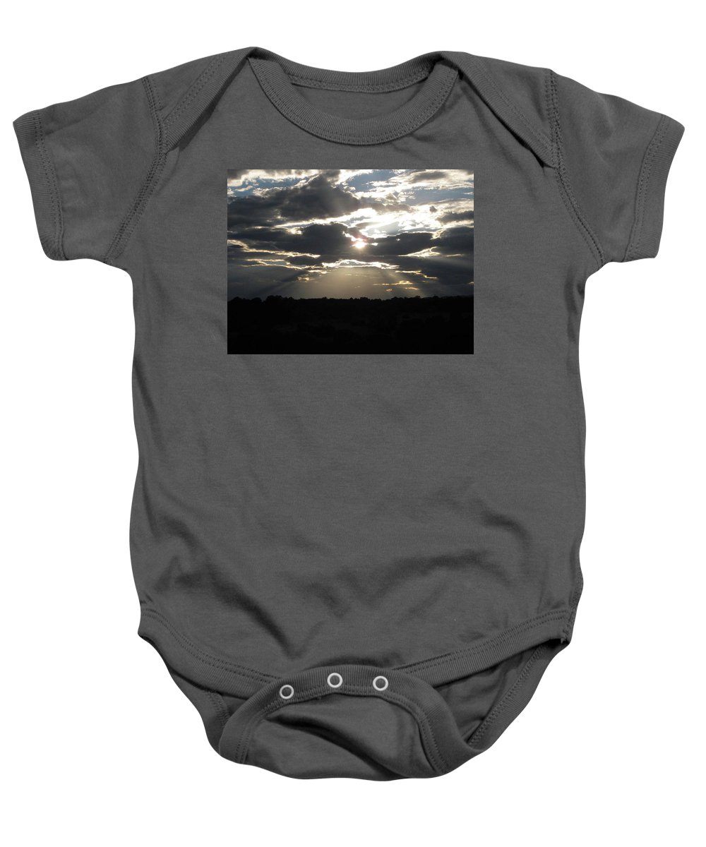 Baby Onesie featuring the photograph Breakthrough by Rocky Washington