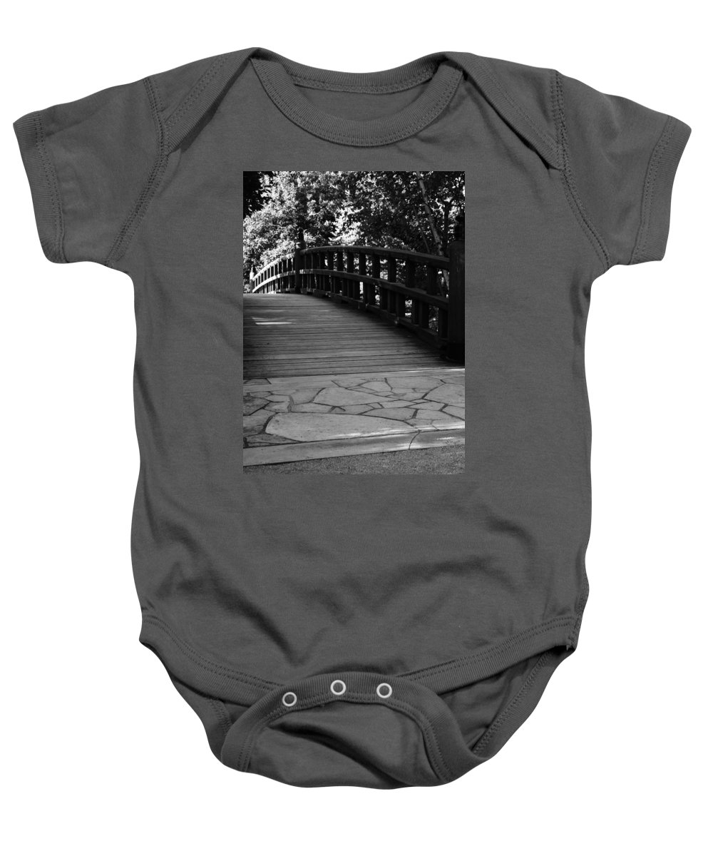 Baby Onesie featuring the photograph Carry On by Jamie Lynn