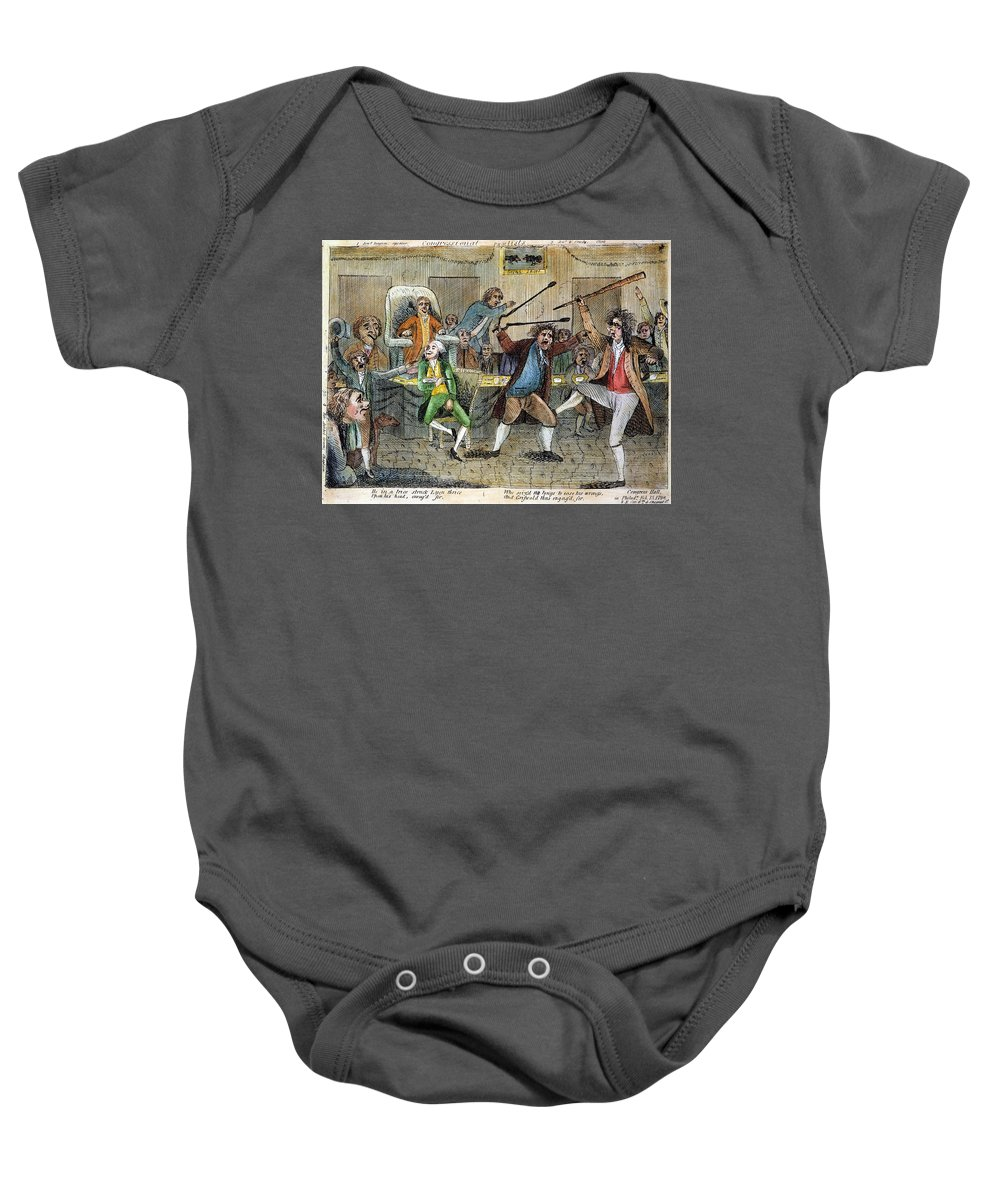 1798 Baby Onesie featuring the photograph Congressional Pugilists by Granger