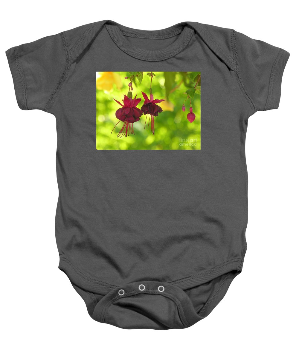 Hanging Baby Onesie featuring the photograph Hanging Around by Diane Greco-Lesser