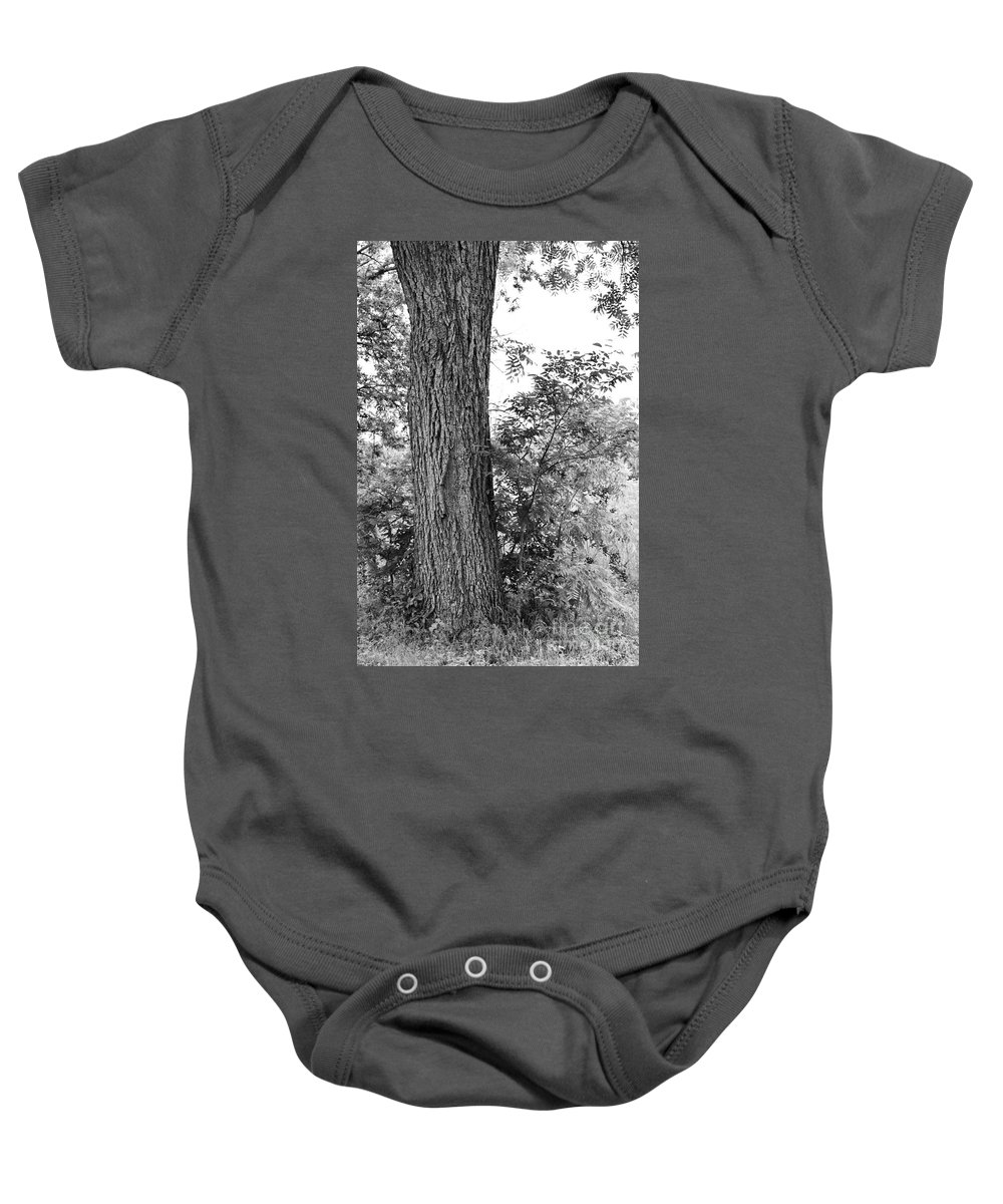 Heaven Baby Onesie featuring the photograph Heaven's Tree by Gary Richards
