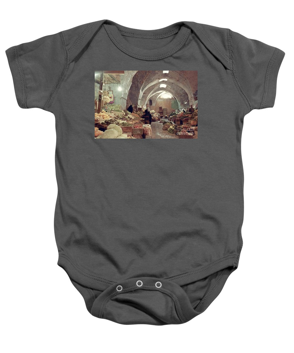 1970 Baby Onesie featuring the photograph Holy Land: Jerusalem by Granger