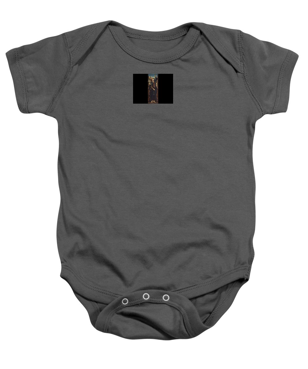 Edward Burne-jones Baby Onesie featuring the painting Hope by Edward Burne-Jones