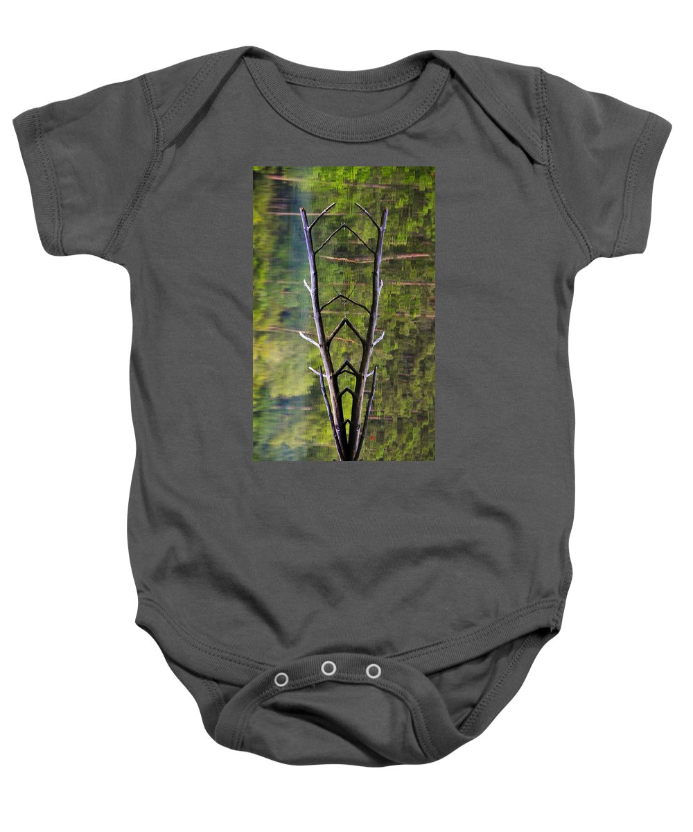 Photography Baby Onesie featuring the photograph Jacob's Ladder by Skip Hunt