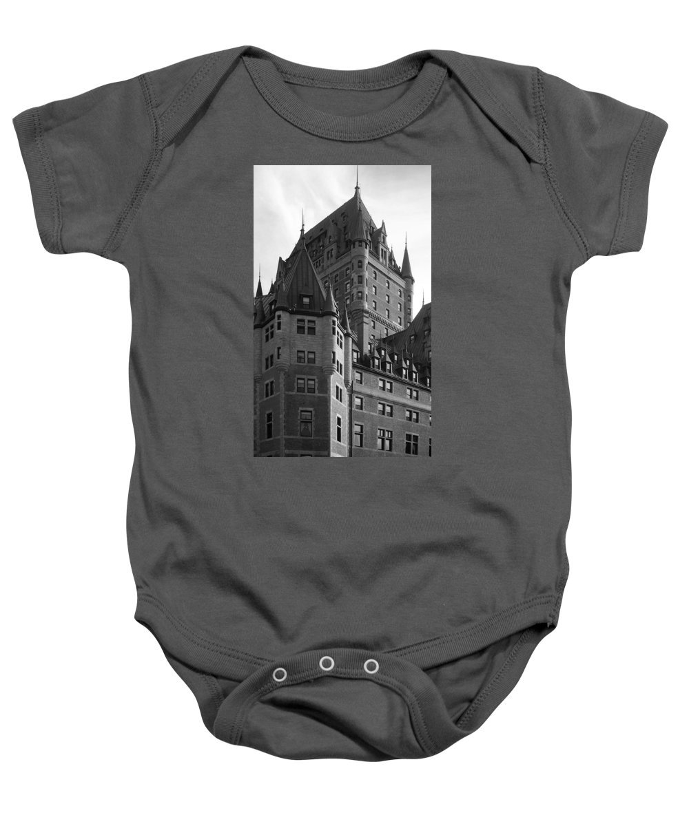 North America Baby Onesie featuring the photograph Le Chateau by Juergen Weiss