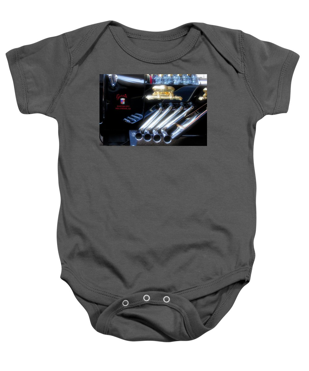 George Barris Baby Onesie featuring the photograph Munster Koach by Todd Dunham