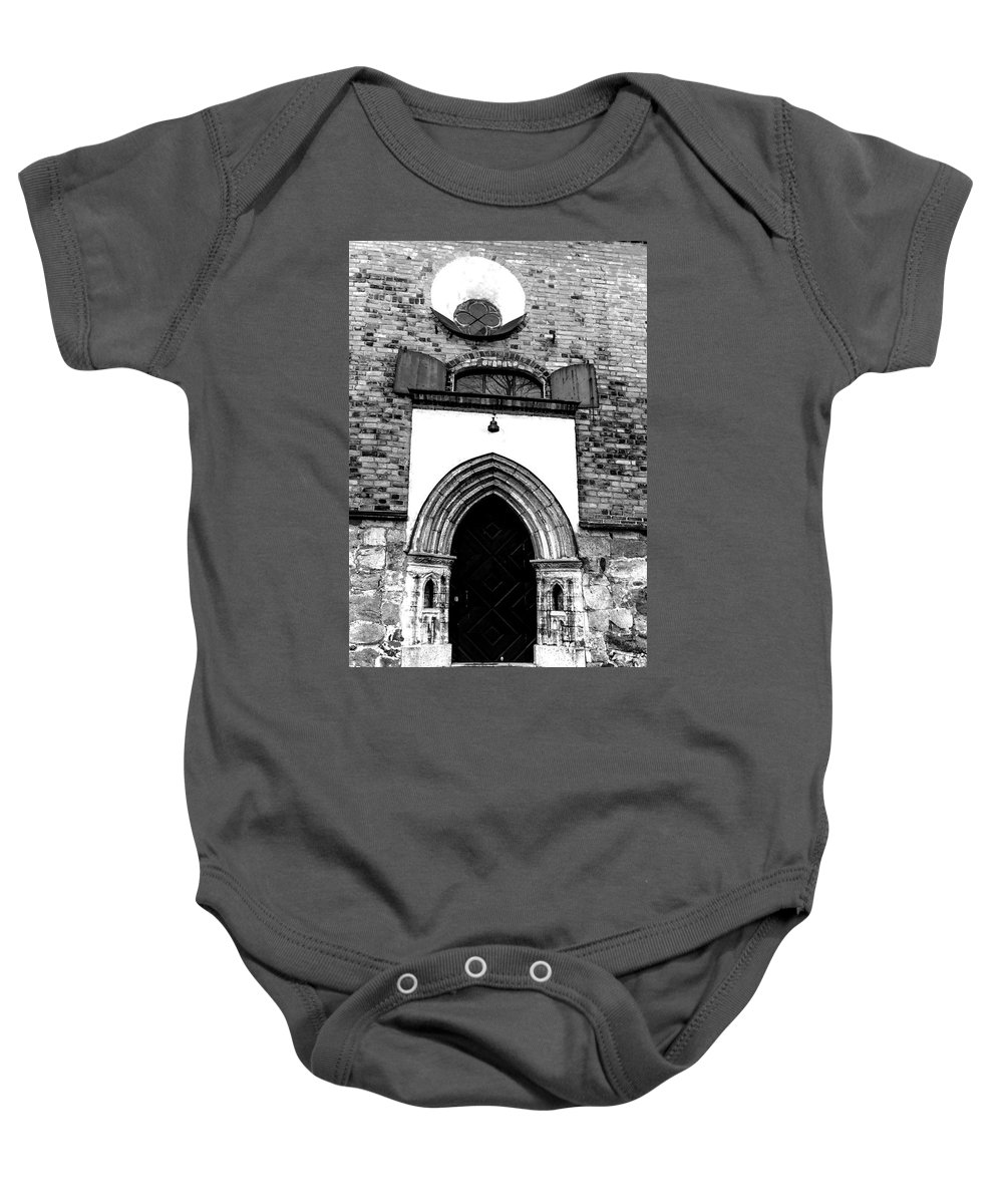 Places Baby Onesie featuring the photograph Old Cathedral In Turku by Tamara Sushko