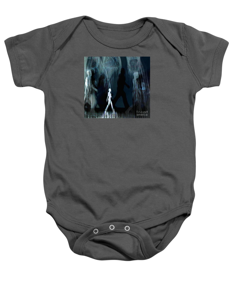 Moving Baby Onesie featuring the photograph On The Move by Kirsti Hadderingh