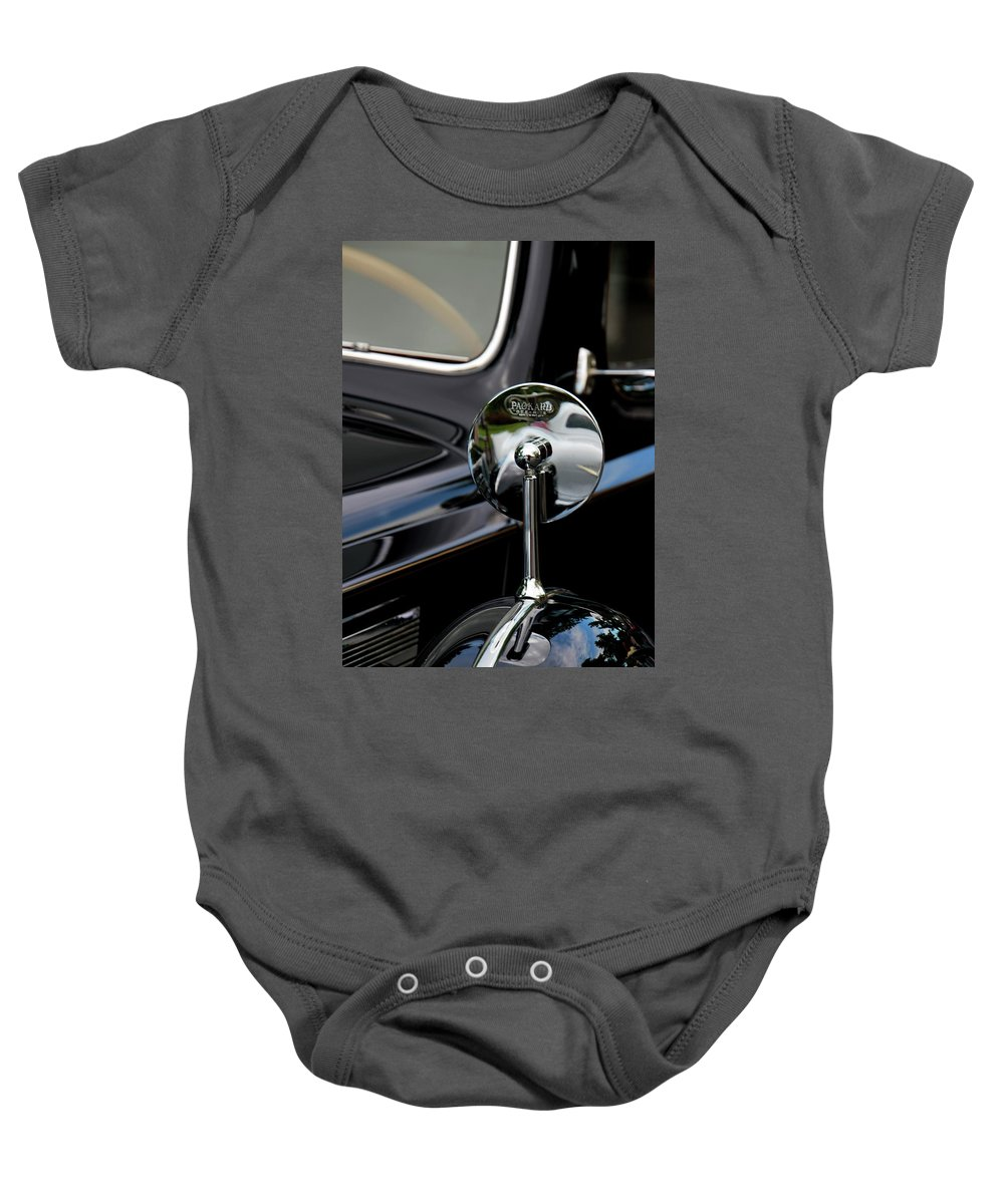 Antique Baby Onesie featuring the photograph Packard by Pauline Darrow