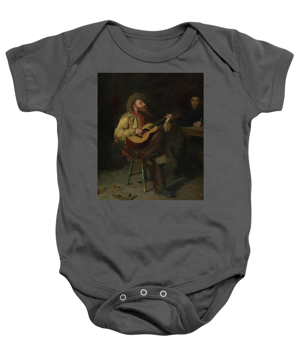 Painting Baby Onesie featuring the painting Painting by Eakins Thomas