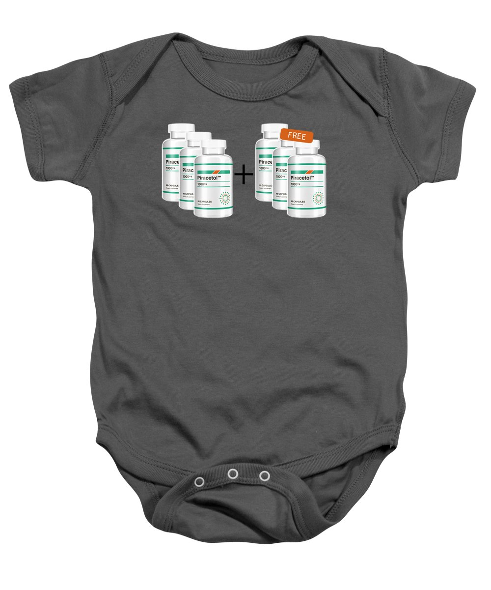 Piracetol Baby Onesie featuring the jewelry Piracetol by Piracetol