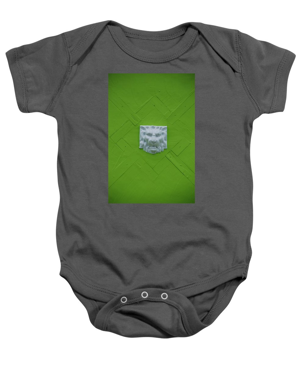 Lion Baby Onesie featuring the photograph The Lion by Rob Hans