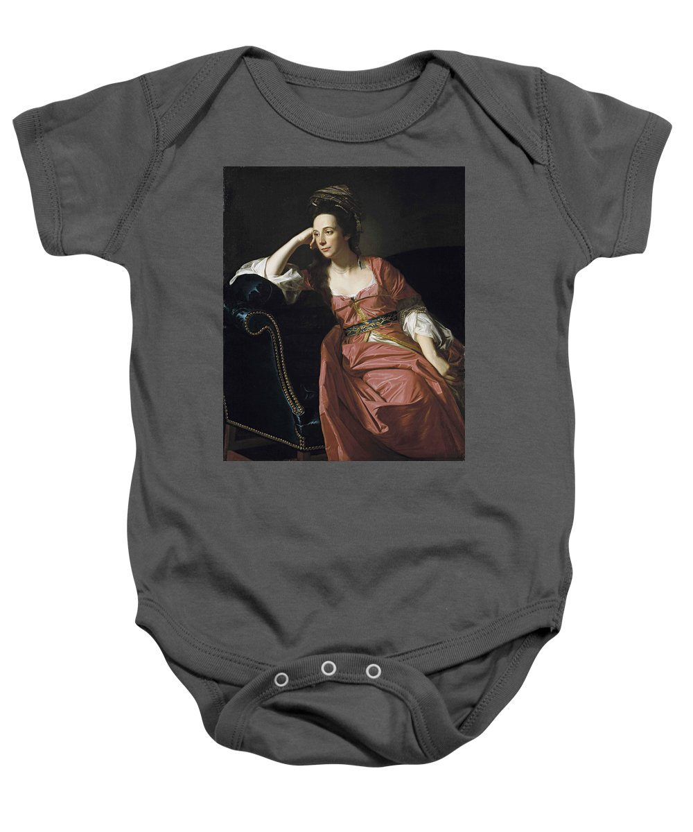 John Singleton Copley Baby Onesie featuring the painting Thomas Gage by MotionAge Designs