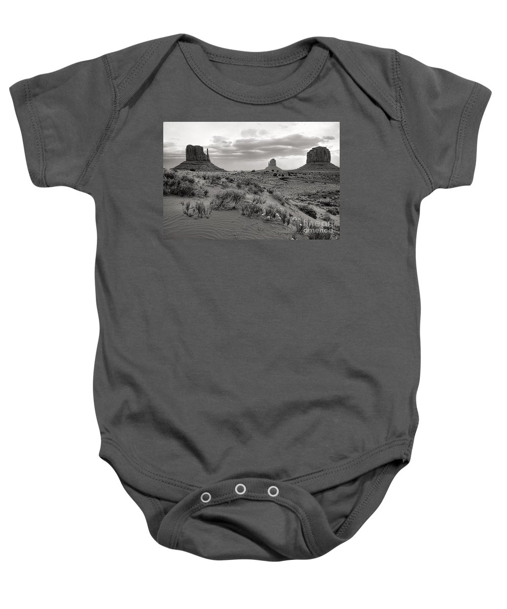 Arizona Baby Onesie featuring the photograph Valley View by Jim Garrison