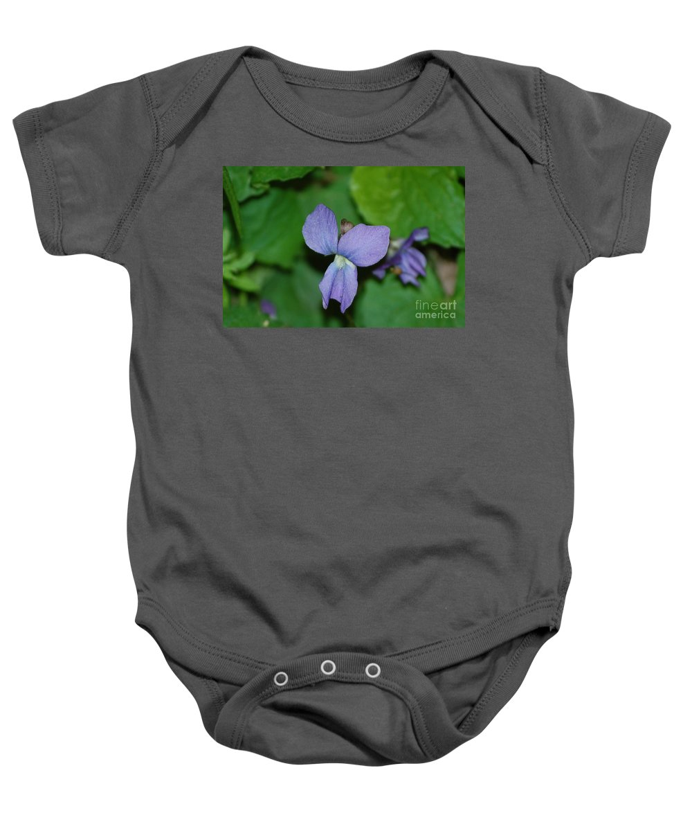 Landscape Baby Onesie featuring the photograph Violet by David Lane