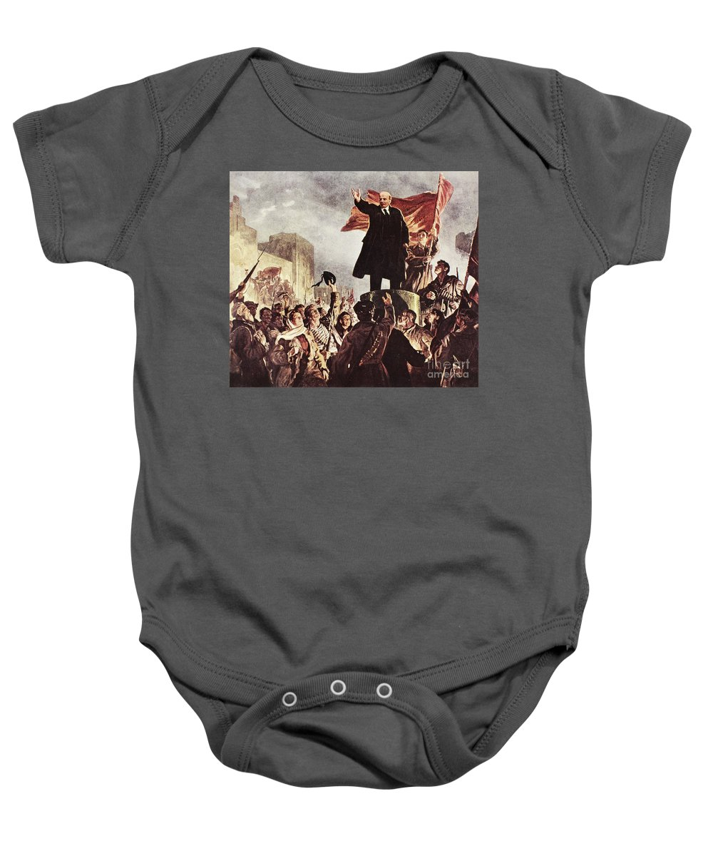 20th Century Baby Onesie featuring the photograph Vladimir Lenin (1870-1924) by Granger
