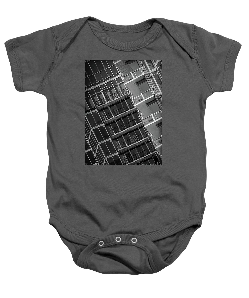 1010 Peachtree Baby Onesie featuring the photograph 1010 Peachtree by Doug Sturgess