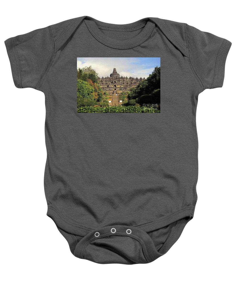 Ancient Baby Onesie featuring the photograph by Gloria & Richard Maschmeyer - Printscapes