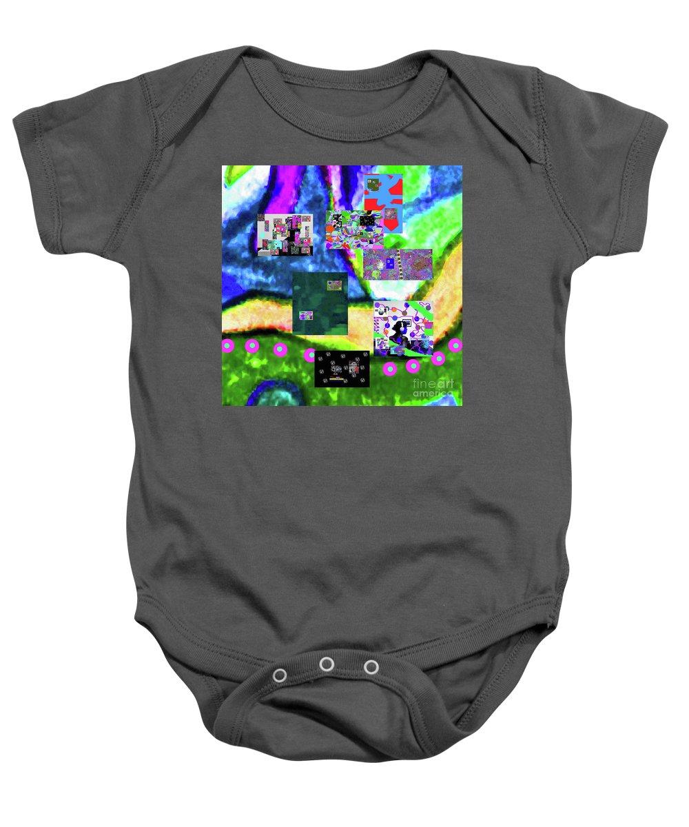 Walter Paul Bebirian Baby Onesie featuring the digital art 11-11-2015abcdefghijklmnopqrtuvwxyzabcdefg by Walter Paul Bebirian