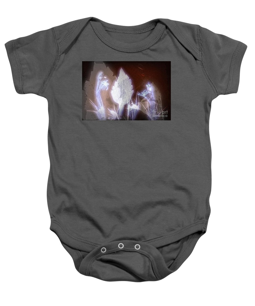 Ghost Baby Onesie featuring the digital art 11291 Ghost Of Lost Souls Series 07-04 by Colin Hunt