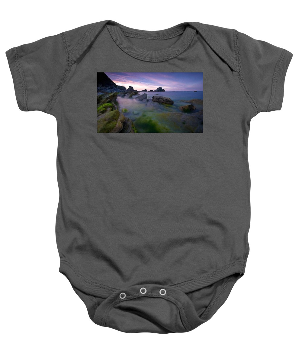 Painting Baby Onesie featuring the digital art Landscapes To Paint by Usa Map