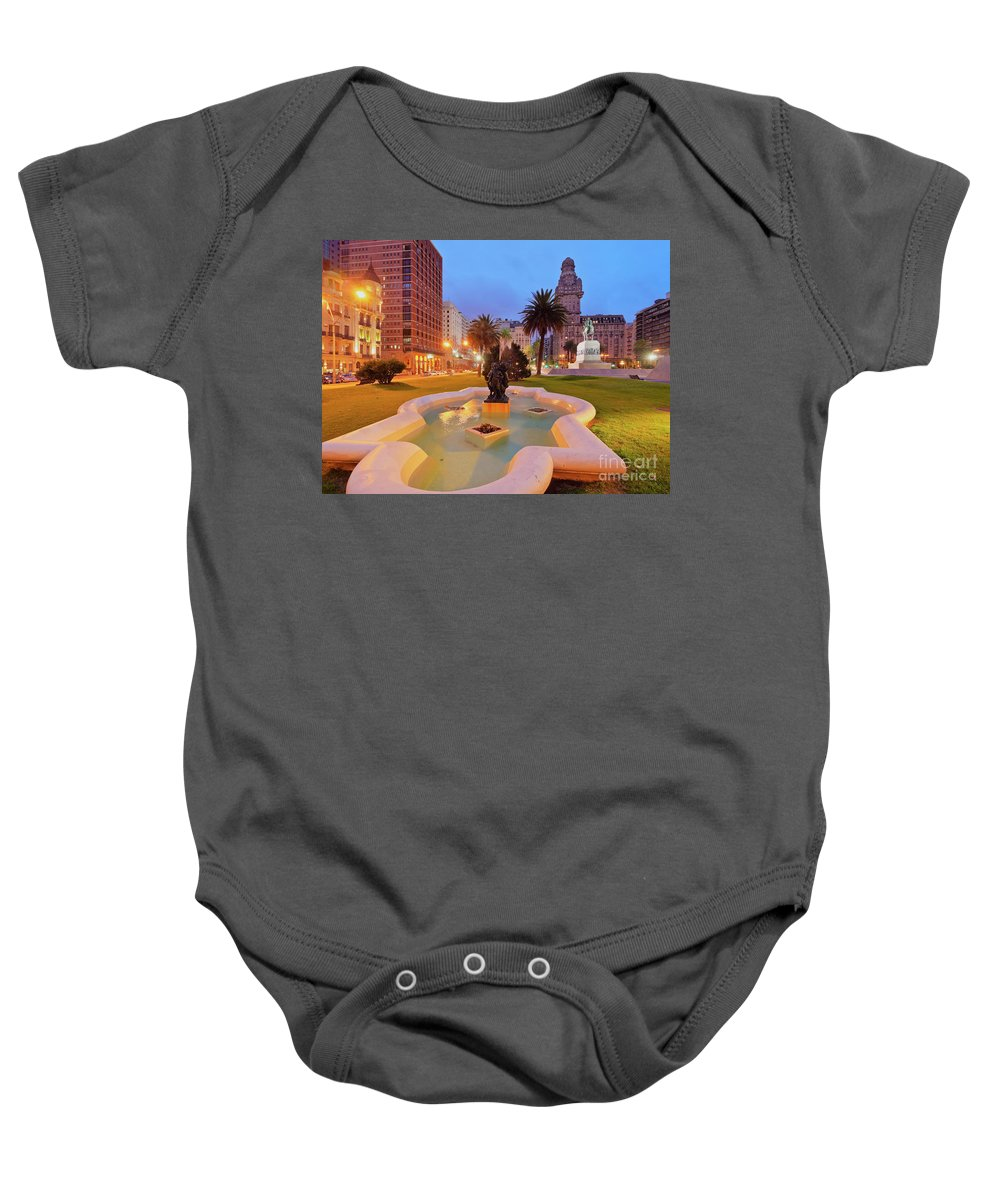 South America Baby Onesie featuring the photograph Montevideo, Uruguay by Karol Kozlowski