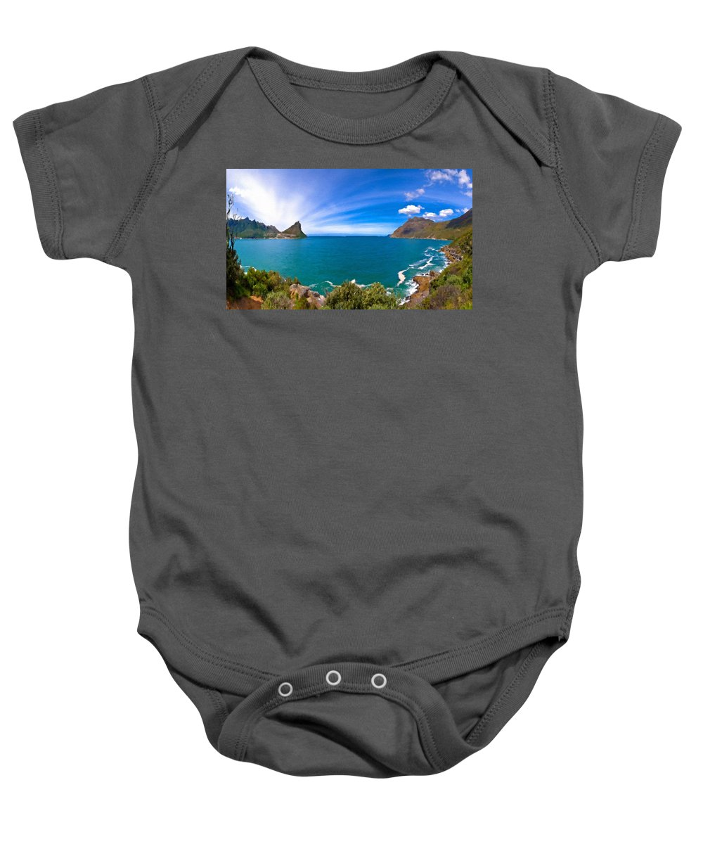 Large Baby Onesie featuring the digital art Nature Pictures by Usa Map