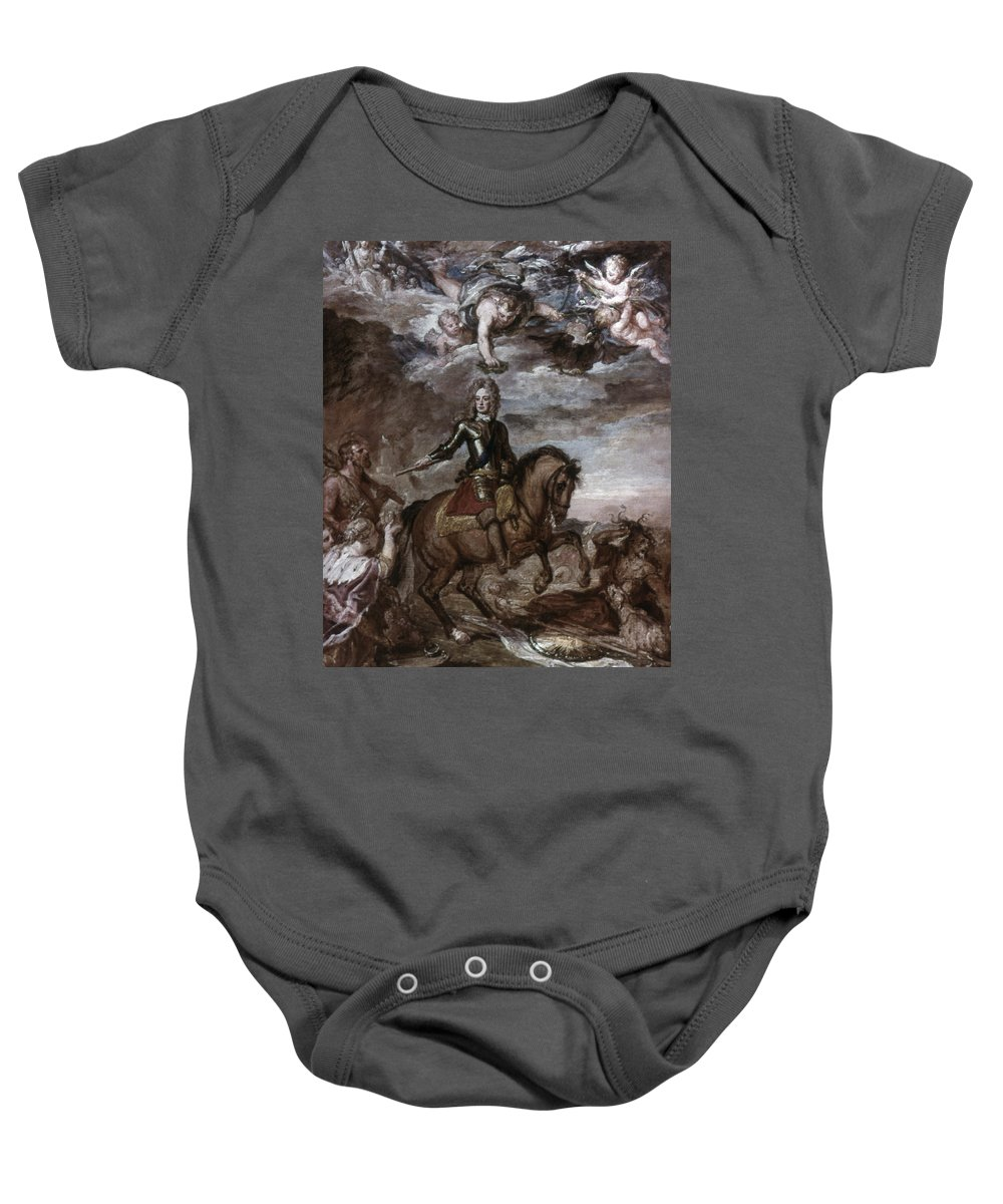 1706 Baby Onesie featuring the photograph John Churchill (1650-1722) by Granger