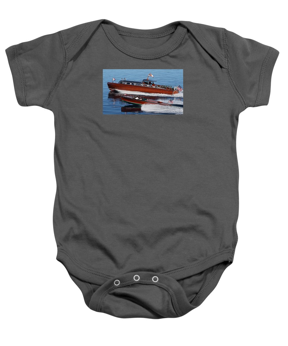 Tahoe Baby Onesie featuring the photograph Tahoe Classics by Steven Lapkin