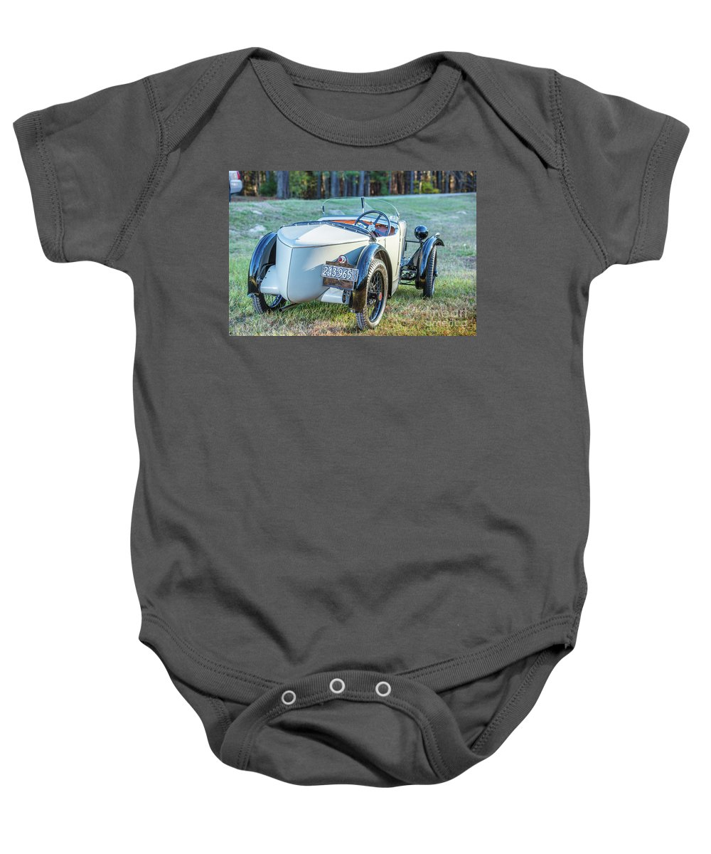 1930 Mg Baby Onesie featuring the photograph 1743.005 1930 Mg Back by M K Miller
