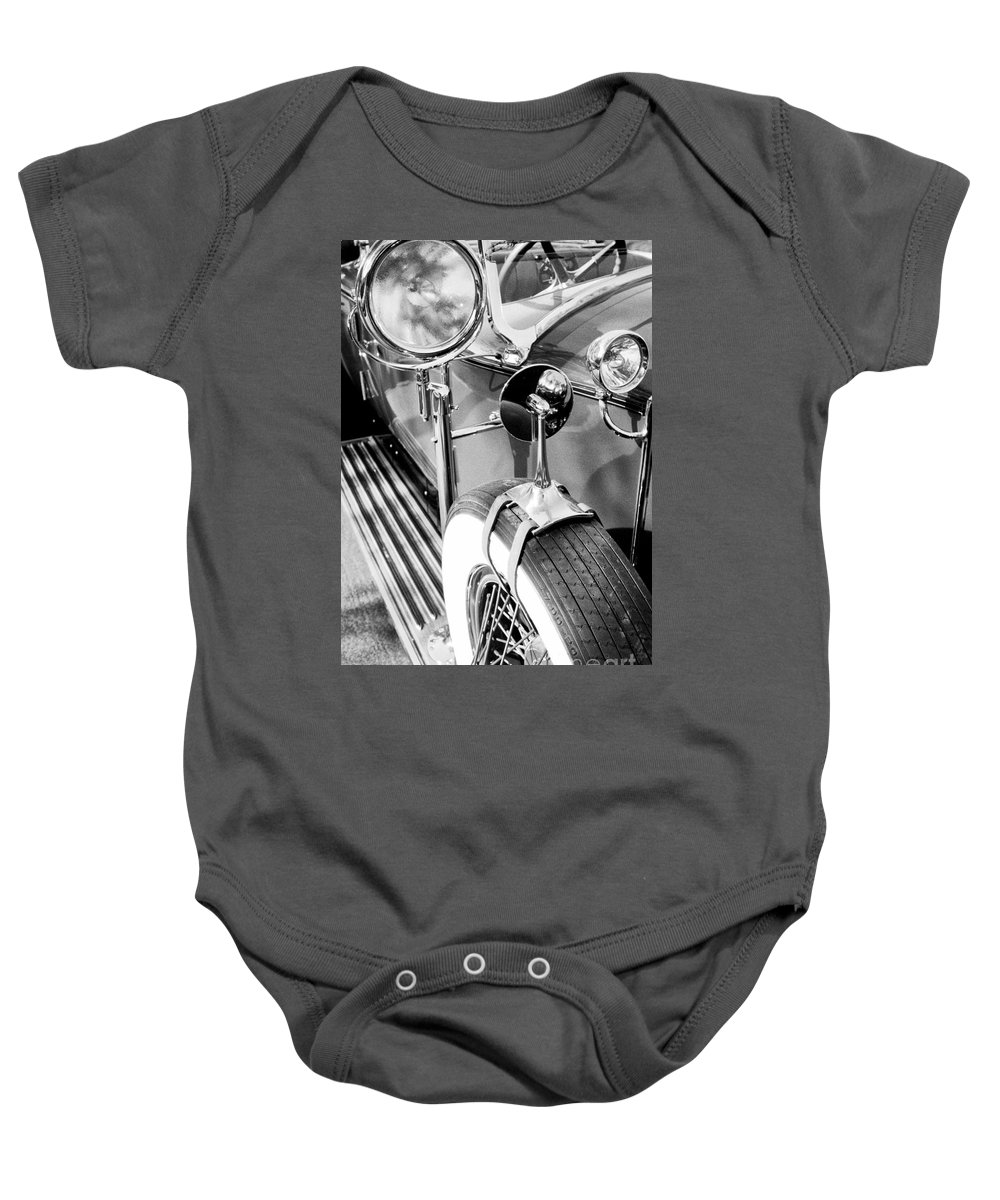 Rolls Royce Baby Onesie featuring the photograph 1907 Rr Silver Ghost - The 57 Millions Dollar Car by Paul W Faust - Impressions of Light