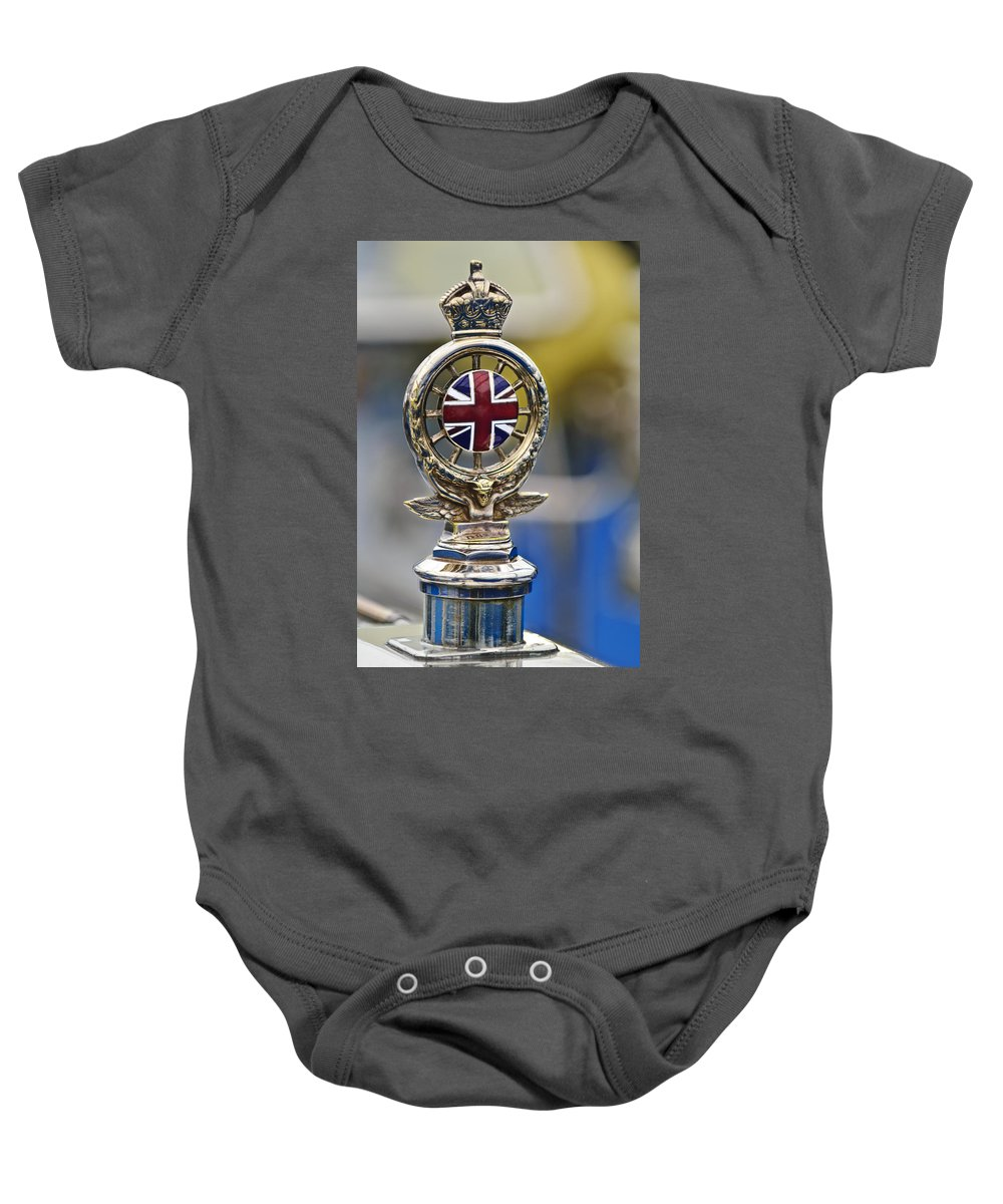 1909 Rolls-royce Silver Ghost Baby Onesie featuring the photograph 1909 Rolls-royce Silver Ghost by Jill Reger