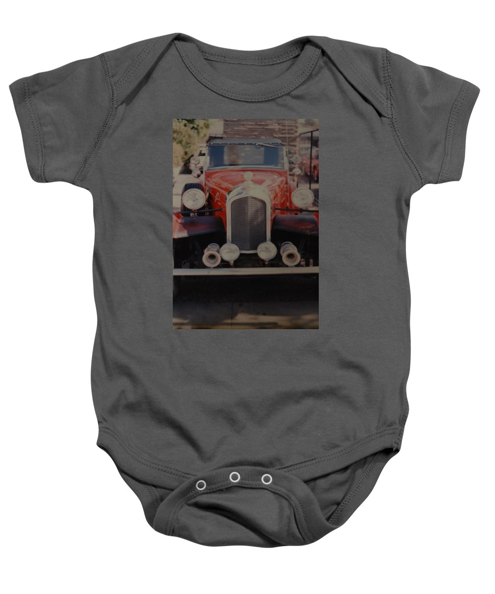 Car Baby Onesie featuring the photograph 1932 by Rob Hans