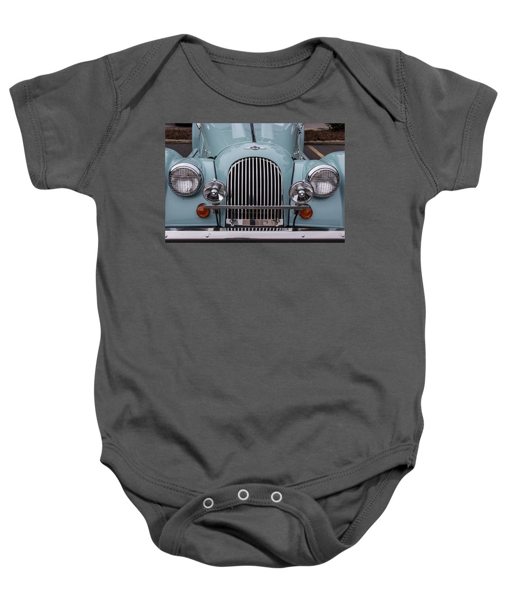 98 Baby Onesie featuring the photograph 1998 Morgan Plus 8 by Robert Kinser