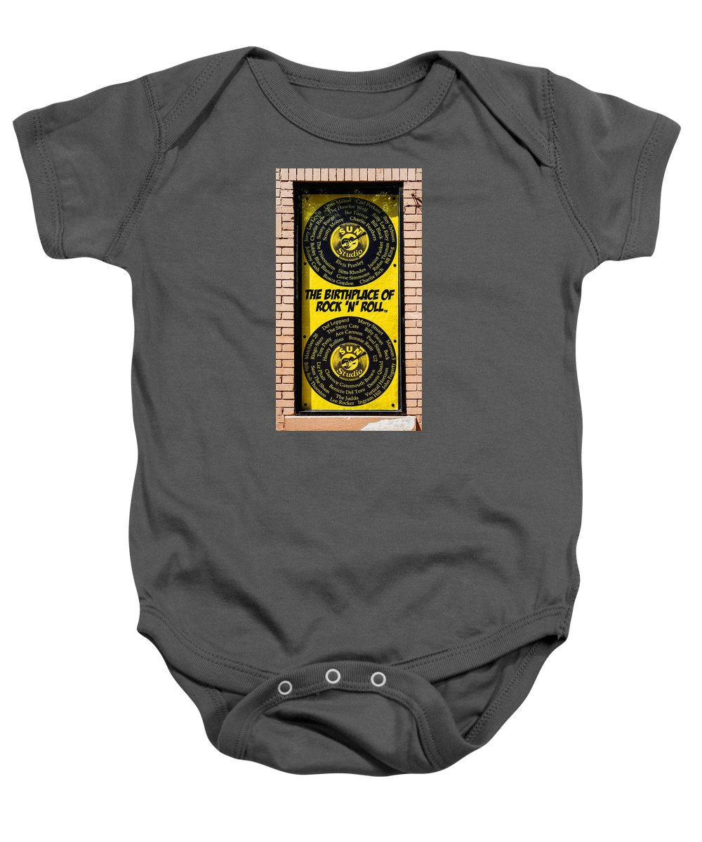 Sun Baby Onesie featuring the photograph Birthplace Of Rock N Roll by Stephen Stookey