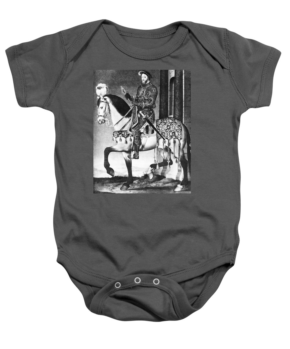 1540 Baby Onesie featuring the photograph Francis I (1494-1547) by Granger