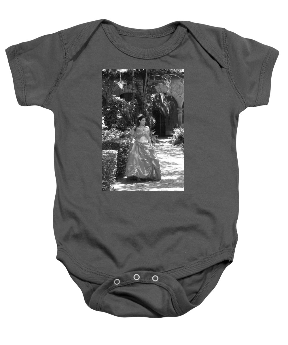 Girl Baby Onesie featuring the photograph The Princess by Rob Hans