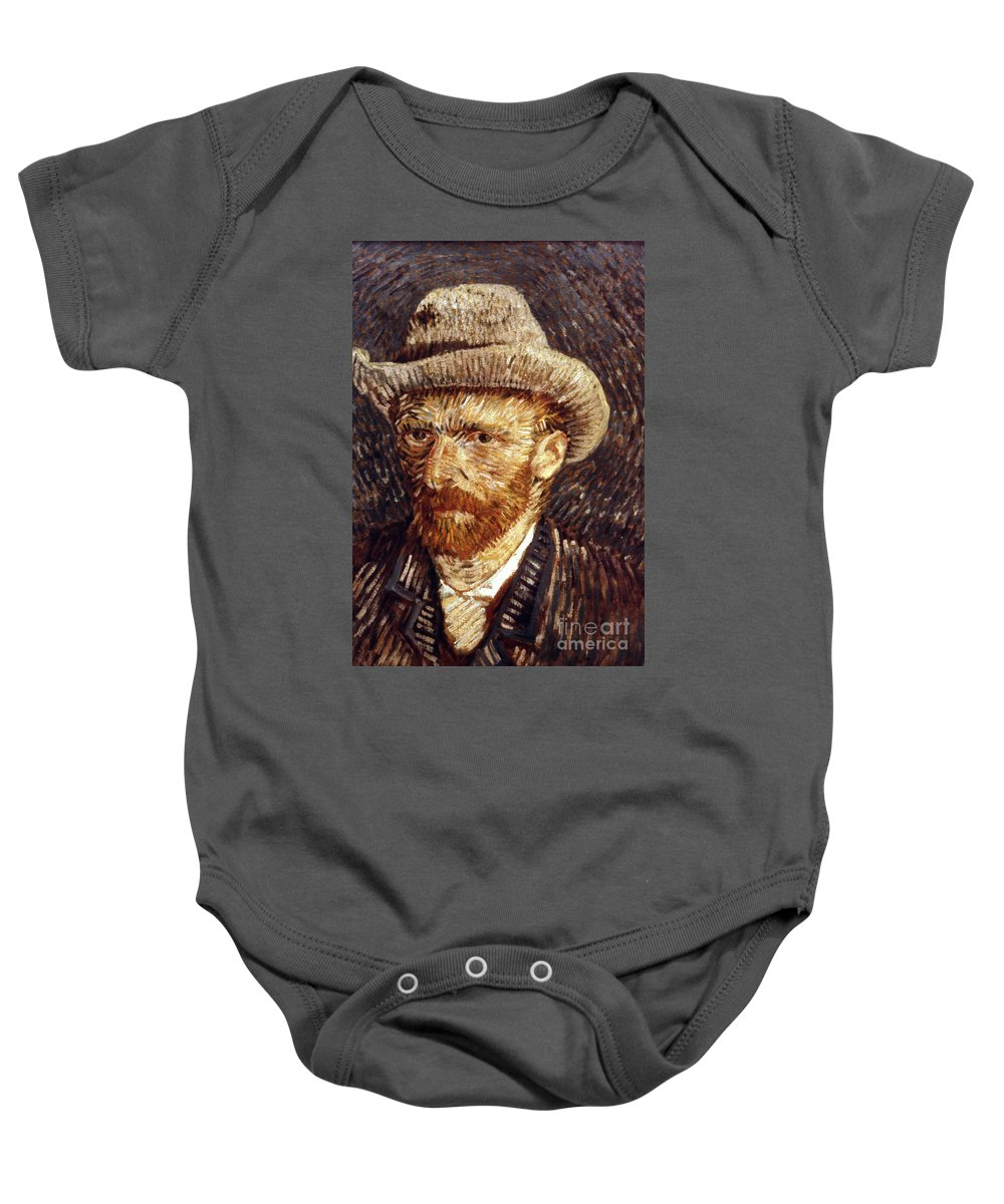 1887 Baby Onesie featuring the photograph Vincent Van Gogh by Granger