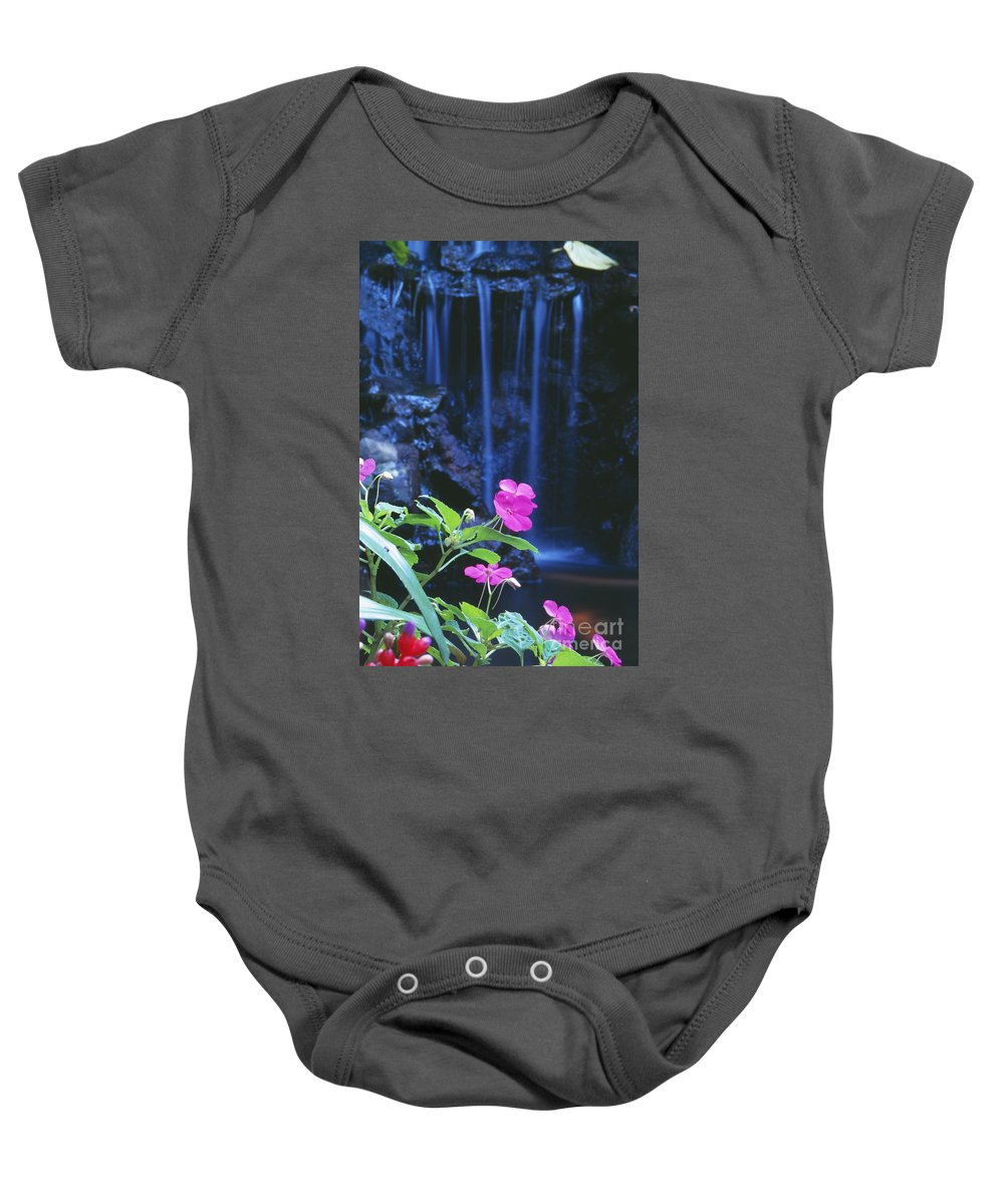 Active Baby Onesie featuring the photograph Waimea Falls Park by Bill Brennan - Printscapes