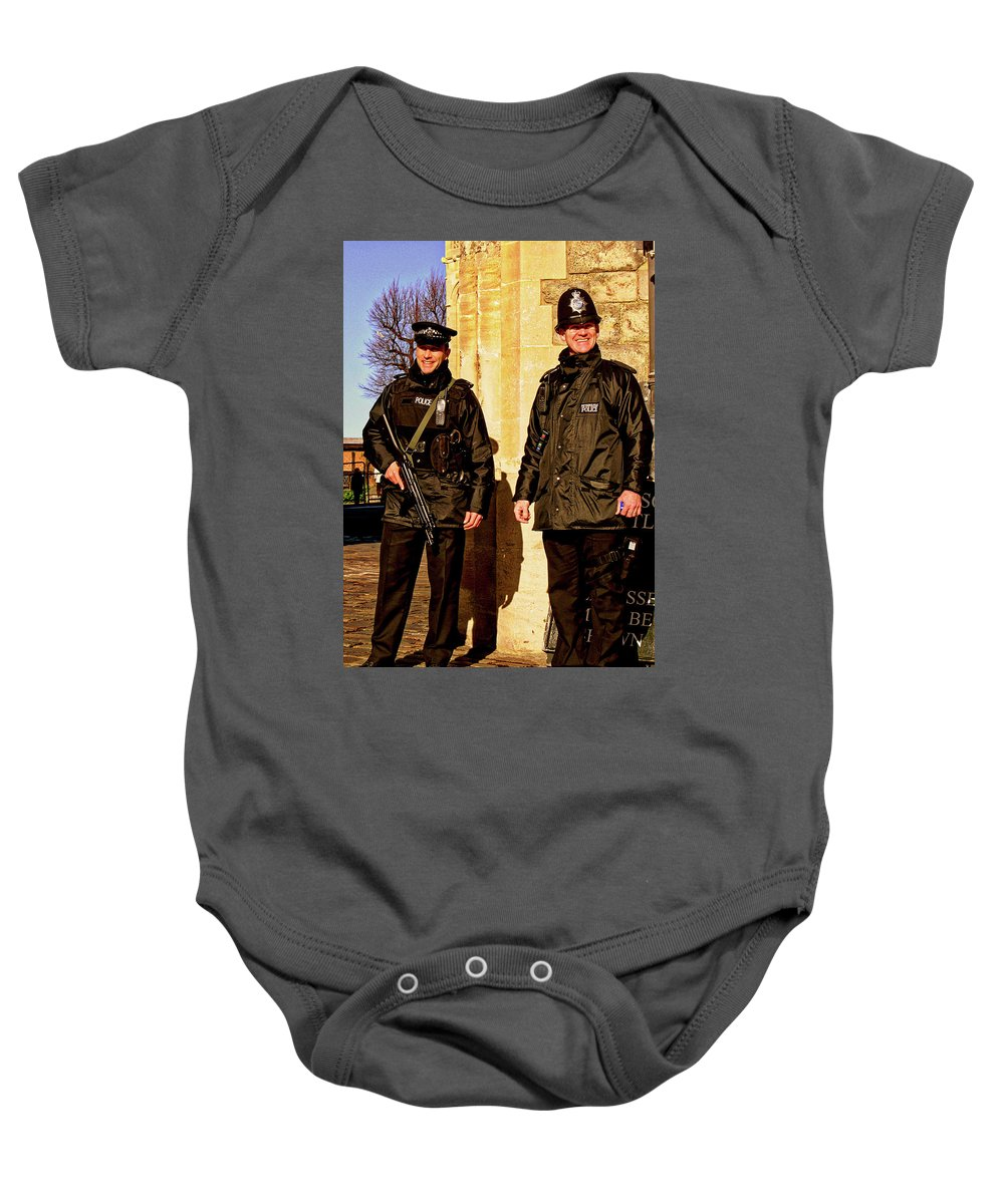 Windsor Castle England United Kingdom Uk Baby Onesie featuring the photograph Windsor Castle England United Kingdom Uk by Paul James Bannerman