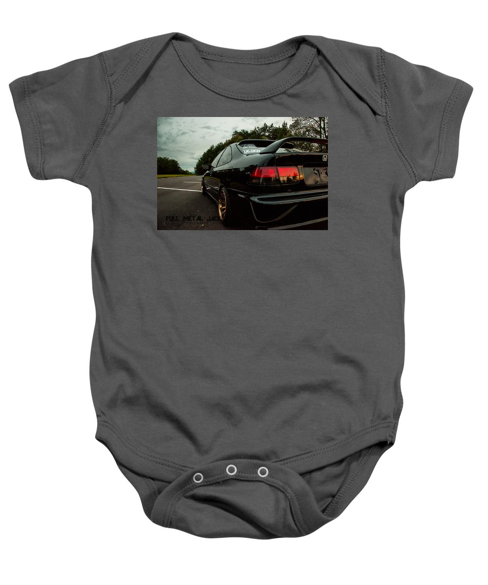 2000 Honda Civic Onesie For Sale By Full Metal Jacket Photography