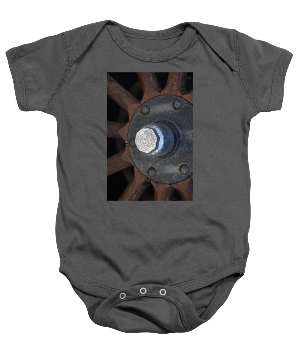 Hup Caps Baby Onesie featuring the photograph 1926 Model T Ford by Rob Hans