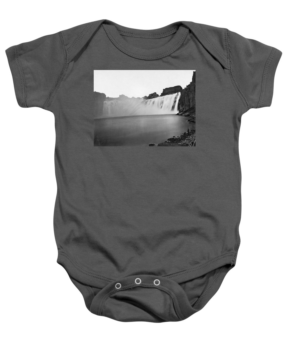 1868 Baby Onesie featuring the photograph Idaho: Shoshone Falls by Granger