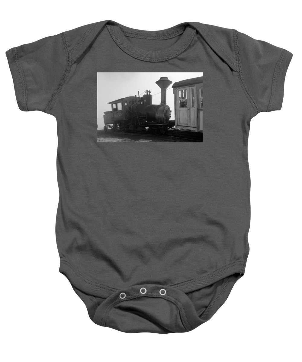 Train Baby Onesie featuring the photograph Train by Sebastian Musial