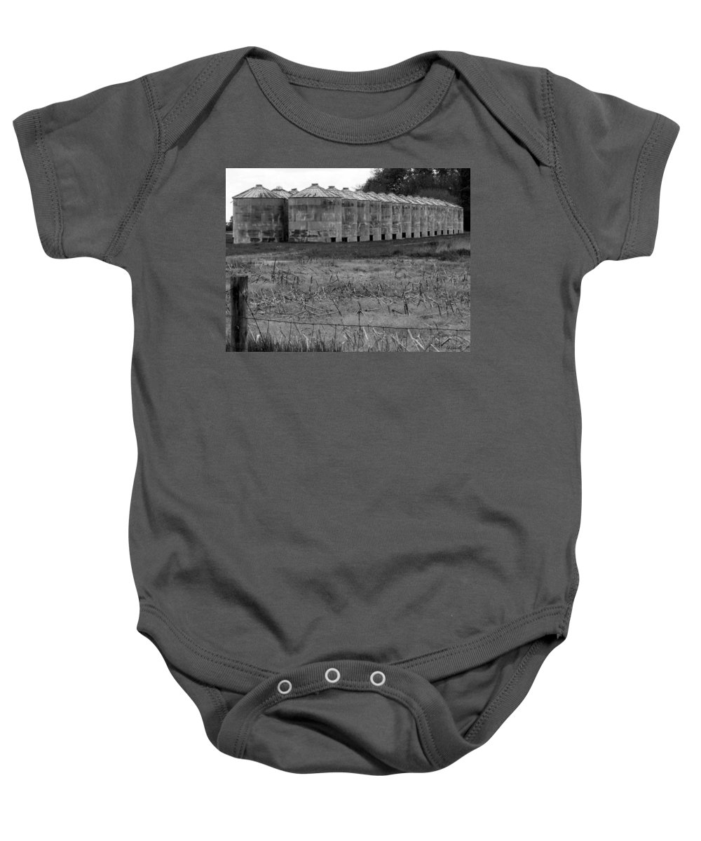 Barn Baby Onesie featuring the photograph 30 Survivors by Ed Smith