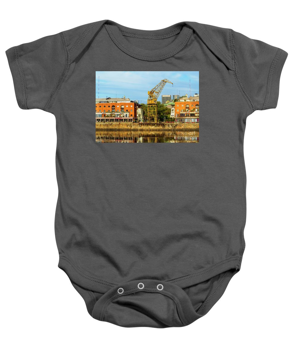 Argentina Baby Onesie featuring the photograph Buenos Aires, Argentina by Karol Kozlowski