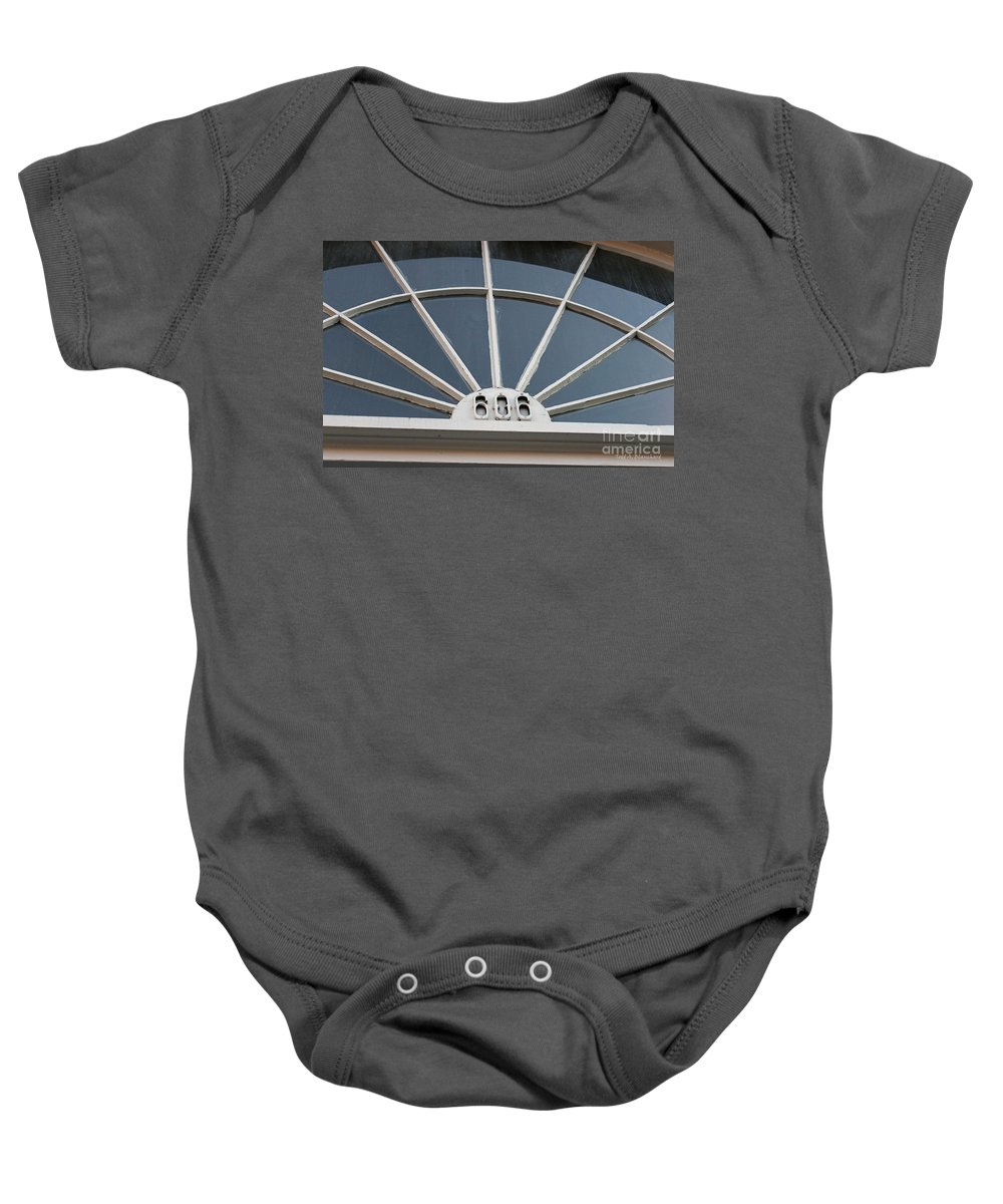 Architecture Baby Onesie featuring the photograph 606 by Todd Blanchard