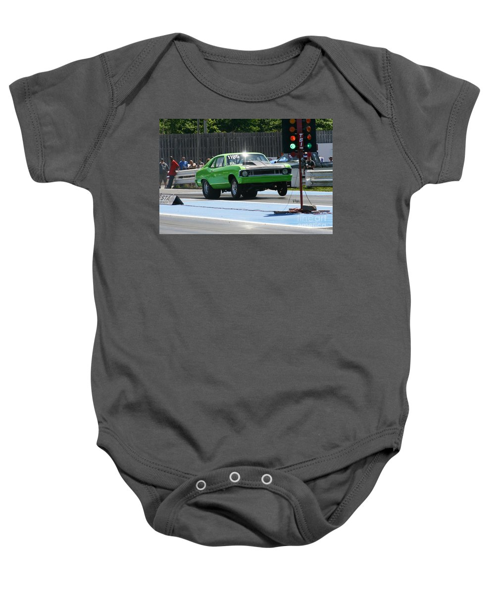 06-07-2015 Baby Onesie featuring the photograph 6462 06-07-2015 Esta Safety Park by Vicki Hopper
