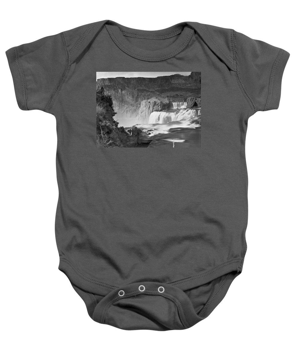1874 Baby Onesie featuring the photograph Idaho: Shoshone Falls by Granger