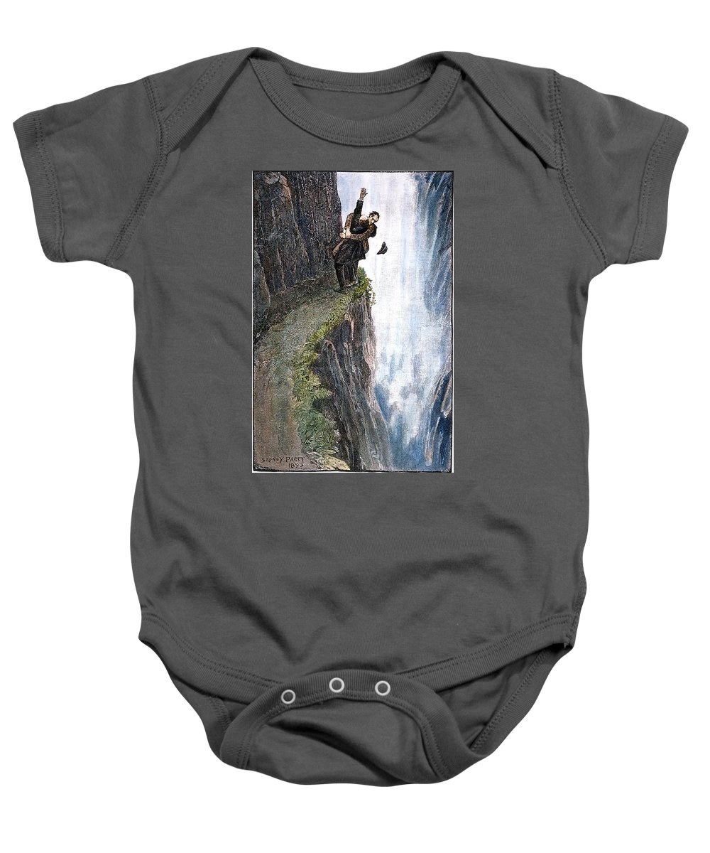 1893 Baby Onesie featuring the photograph Doyle: Sherlock Holmes by Granger